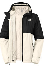 NEW WOMEN'S NORTH FACE ALLABOUT TRICLIMATE JACKET C826 Q4C GRDNIAWHT/TNF BLACK