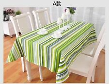 """86""""X55"""" Rectangle Cotton Table Cloth Table Cover For Kitchen 043"""