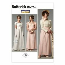 Butterick 6074 Edwardian Dress Jacket Downton Abbey Costume Sewing Pattern B6074