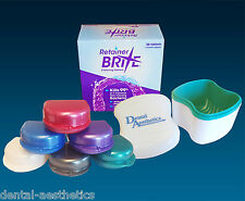 Retainer Brite, Cleaner Bath & Case ~ Cleaning Tablets, Glitter or Pearl Box
