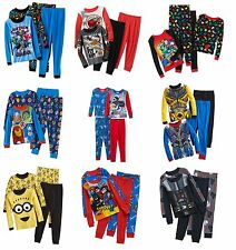 New LEGO/Despicable Me/Transformers 2pc Pajama Set Boys 6 8 10 12