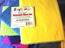 Brite Ideas Sheet Set For Kids - Hot Colors! Satin/Stripe NEW LOW PRICE !