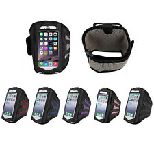 "Running Biking Gym Mesh Armband Case Cover For Apple iPhone 6 Plus 5.5"" & 4.7"""