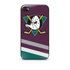 Hot New Hockey Anaheim Mighty Duck Cover Case for Apple Iphone 4, 4s, 5, 5s, 5c