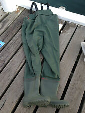 Safety World Rubber Waders Fishing Flounder Duck Hunting Boating Waders Quiet