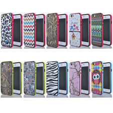 Colorful Hybrid Heavy Duty Protector PC+TPU Proofing Cover Case for iPhone 6 4.7