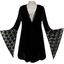 Sexy Lace-up Shirt Witch Gothic Costume Reg & Plus Size
