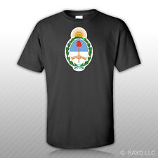 Argentine Coat of Arms T-Shirt Tee Shirt Free Sticker Argentina flag ARG AR