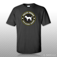 Proud Owner Jack Russel Terrier T-Shirt Tee Shirt Free Sticker dog canine pet