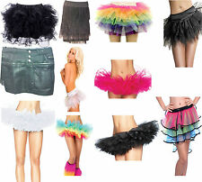 TuTu Skirts of various colours and styles and mini skirts for her