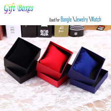 Hot Classic Watch Jewelry Bangle Paper Storage Display Present Gift Box