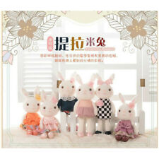 "New 15.5"" Super Cute Adorable Girls Rabbit Bunny Plush Soft Toy Dress Up Animal"