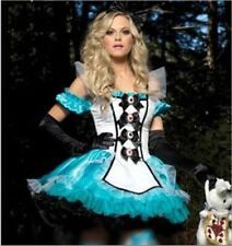 Halloween Costume Alice in Wonderland Queen of hearts Fancy Dress Cosplay new e