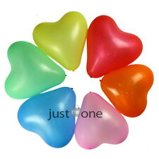 Pretty Heart Balloons Soft LATEX Helium Ballon Lovely f Party Wedding 90 PCS