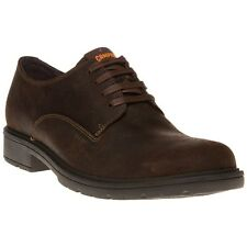 New Mens Camper Brown 18889 Leather Shoes Modern Classics Lace Up