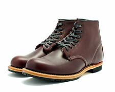 "RED WING BOOTS BECKMAN 6"" ROUND TOE 9011 BLACK CHERRY LEATHER MADE IN THE USA"