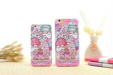 Little Twin Stars TPU Soft Rubber Back Plastic Case Cover For iPhone 6 / 6 Plus