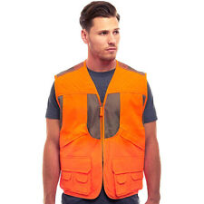 Men's BLAZE ORANGE DELUXE FRONT LOADER SAFETY VEST Elk- Deer- Pheasant-Big Game
