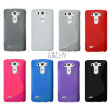 Soft Silicone Case Gel S-Line Gel TPU Cover Skin Pouch For G3 D850 for AT&T