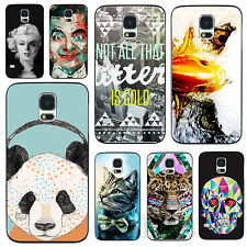 Wild Animals Sexy Woman Pattern Hard Case Cover For Samsung Galaxy S3 S4 S5