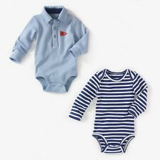 La Redoute Baby Boys Pack Of 2 Long-Sleeved Bodysuits