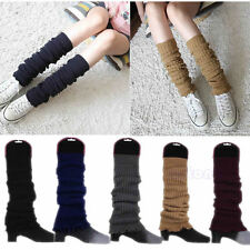 Womens Fashion Winter Knit Crochet Knitted Leg Warmers Legging Boot Cover Socks