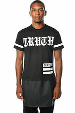 Mens Urban HipHop Truth Sublimation PU Tee T-Shirt Bleecker Mercer FREE SHIPPING