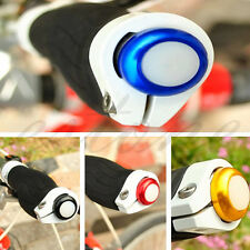 1Pair Safety Cycling Bike Turn Signal Handle Bar End Plug LED Red Light Lamp Hot