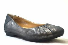 Earth Kalso Bellwether Womens Flat Ballet Shoes Pewter Leather