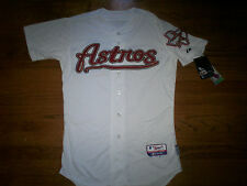 HOUSTON ASTROS NEW MLB MAJESTIC AUTHENTIC COOL BASE GAME JERSEY