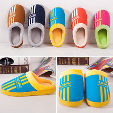 New Simple Sport Style Home Cotton/Velvet Slippers For Women and Men UX0001