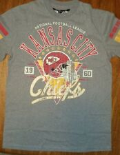 New KANSAS CITY CHIEFS  VINTAGE T Shirt NFL  LICENSED  Distressed PAY DIRT SHIRT