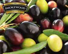 BBQ OLIVE Food Smoking Wood Chips 1Kg - for Smokers, Pizza Ovens & Barbecue's