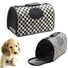 Puppy Dog Cat Tote Crate Carrier House Kennel Pet Travel Soft Portable HandBag