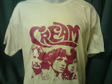 CREAM TSHIRT ON KHAKI eric clapton disraeli gears psyche ALL SIZES
