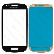 For Samsung Galaxy S3 Mini i8190 Front Outer Lens Glass Touch Screen + Adhesive