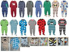 NWT Carter's Fleece Footed Pajamas 12 18 24 Mos 2T 3T 4T 5T 4 5 6 7 Christmas