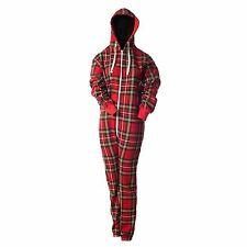 Unisex Tartan Onesie Nightwear, Stewart Royal, All Sizes