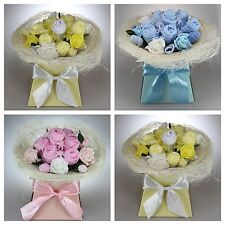 BABY BOY GIRL UNISEX CLOTHES FLOWER BOUQUET NAPPY CAKE BABY SHOWER  MATERNITY