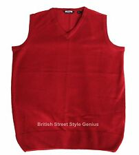 Relco Tank Top - Red -Classic 60s 70s Mod Skinhead Northern Soul Indie