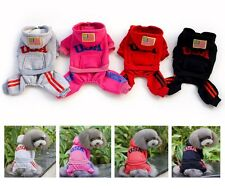 USA Cotton Coat Sweater Jacket Hoodie Jumpsuit Pet Small Boy Girl Dog Clothes