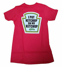 NEW!  Heinz I put KETCHUP on my KETCHUP Men's Graphic T Shirt HUMOR