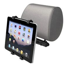 HEAVY DUTY UK CAR BACK SEAT HEADREST MOUNT HOLDER FOR VARIOUS iPAD TABLETS TAB 2