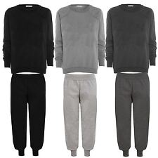 New Womens Winter Sweatshirt Long Sleeve Full Tracksuits Bottoms and Tops 8-14