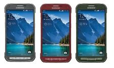 Samsung Galaxy S5 Active SM-G870A Factory Unlocked RED / BLACK / GREEN