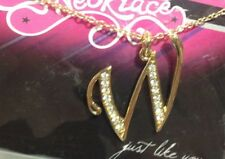 Name Necklace Gold and Silver beginning with W
