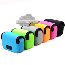 6 Colors Neoprene Soft Case Bag Pouch Cover For Sony DSC-RX100 RX100 II Camera