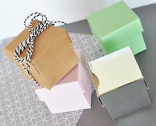 DIY Cube Candy Mint Favor Gift Box Wedding Birthday Bridal Baby Shower 9 Colors!