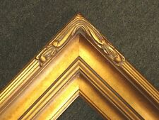 "5"" WIDE Gold double Ornate photo family Oil Painting Wood Picture Frame 607G"