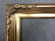 "3.25"" Gold antique Ornate art Classic Picture art box Frame gallery ready B6G"